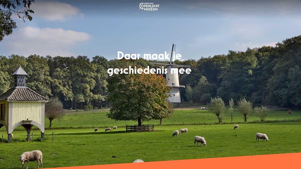 Nederlands Openluchtmuseum laat social media video maken