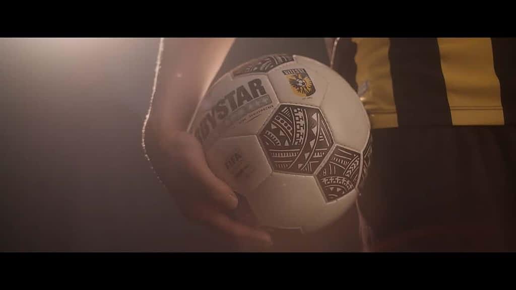 Bedrijfsfilm voor nieuwe sponsor van Vitesse
