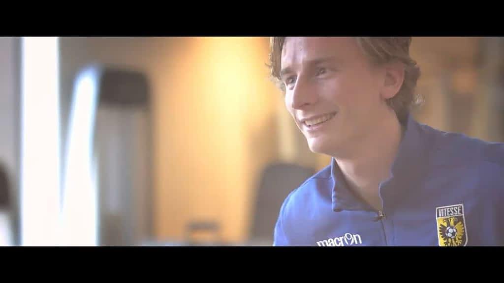 Bedrijfsfilm voor de voetbalacademie van Vitesse